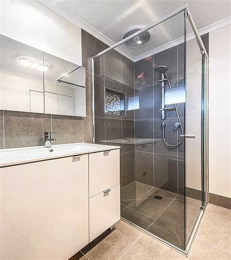semi ensuite bathroom semi frameless shower screen geelong splashbacks mode