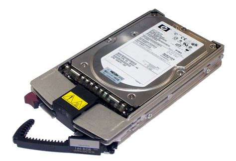 hp 404708 001 146 8gb 10k ultra 320 scsi disk drive in 1 quot universal caddy ebay