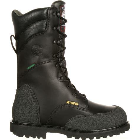 met guard waterproof insulated miner boot g9330
