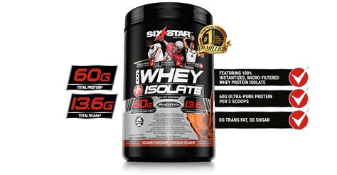 Whey Isolate 100 100 whey plus isolate six pro nutrition