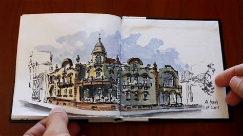 urban sketching the complete 1782210970 complete urban sketching sketchbook 28 youtube
