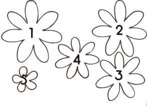 Printable Paper Flower Patterns » Home Design 2017