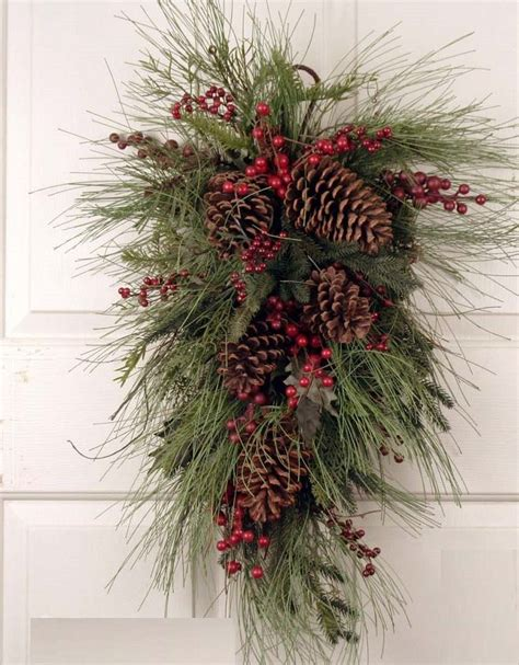 1000 ideas about door swag on pinterest door wreaths