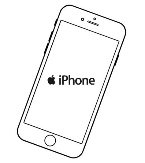 Iphone 7 Coloring Pages by Top 7 Iphone Coloring Pages Coloring Pages