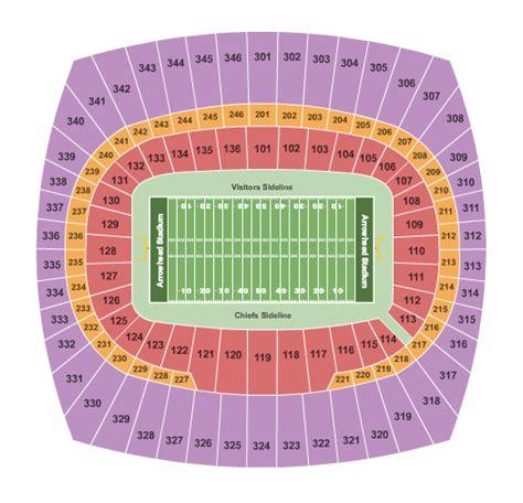 arrowhead stadium seating chart for kenny chesney kansas city concert tickets seating chart arrowhead