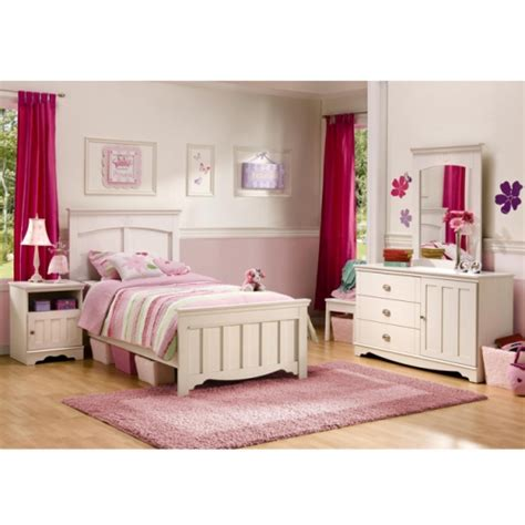 twin furniture bedroom set fairy suite 4 piece twin bedroom set by south shore furniture