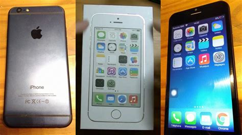 goophone i6 copie de merde d apple iphone 6 avec quot ios quot 7 1 xd