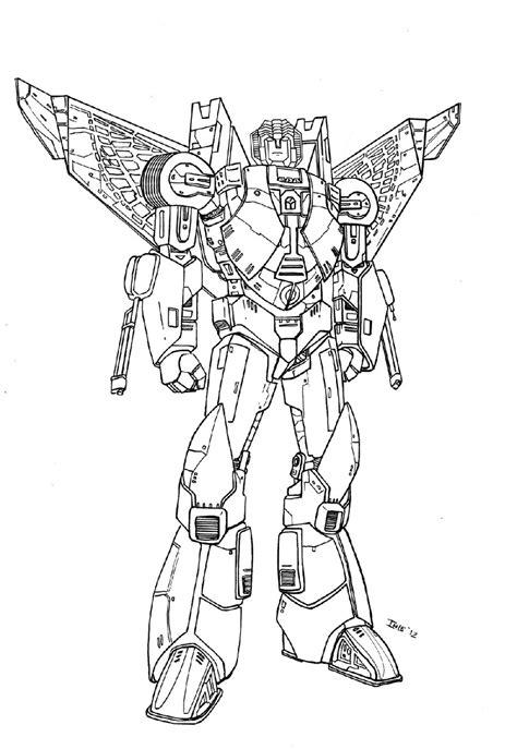 sketsa mewarnai gambar robot dunia putra putri