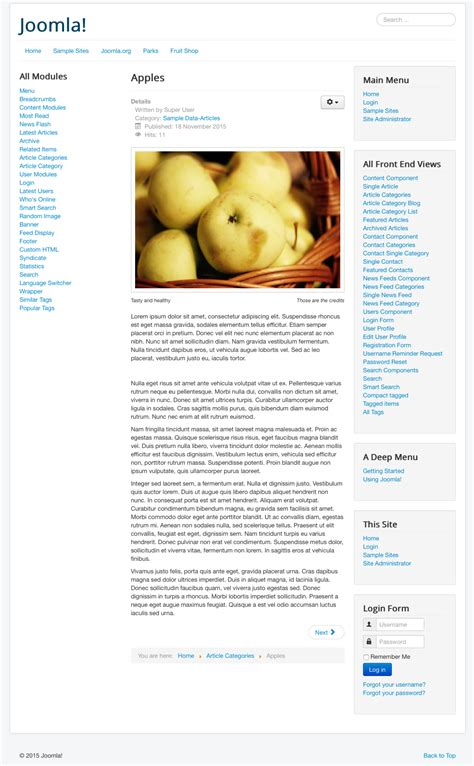 joomla article tutorial journal article on muscles