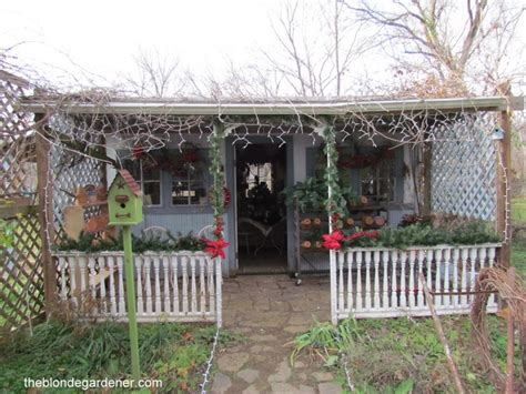 Decorated Garden Sheds by Garden Shed Decorated For Well Shed Garden