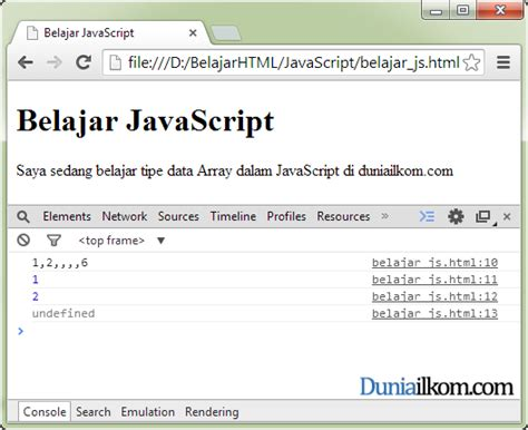 pattern array javascript tutorial javascript pengertian tipe data array javascript