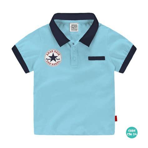 Baju Polo Anak baju anak perempuan kaos polo shirt umur 1 tahun 10