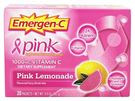 emergen c carbohydrates buy alacer emergen c pink vitamin c energy booster pink