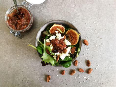 wann gibt es feigen salat mit ger 246 steten salzmandeln feta und feigen chutney