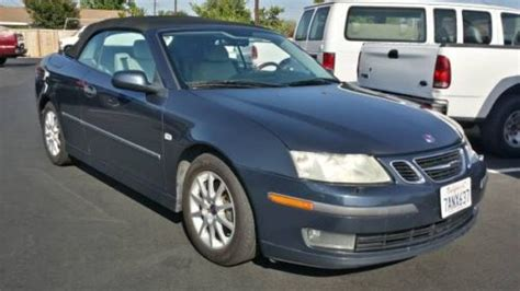 how can i learn about cars 2004 saab 42072 windshield wipe control find used 2004 saab 9 3 convertible 4 cylinder auto 2 0t clean car fax clean in orange