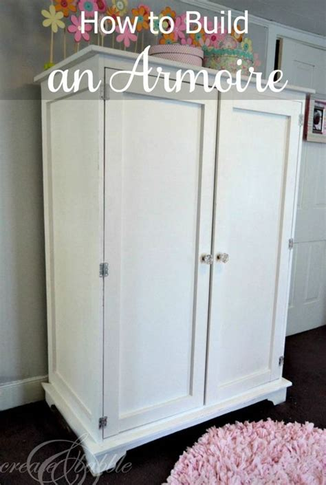 ana white armoire building an armoire ana white white banister and diy bed