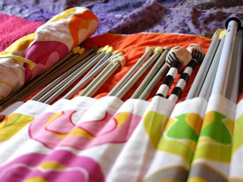 how to make a knitting needle roll knitting needle roll up 183 how to sew a roll up pouch
