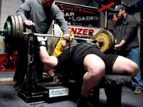 bench press 600 lbs 600 lb bench press raw vincent dizenzo 3 26 11 youtube