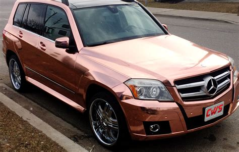 rose gold car supercast chrome rose gold 187 cws