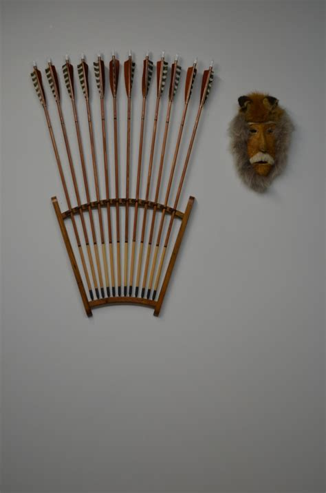 archery display racks woodworking