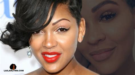 meagan good tattoo meagan got an eyebrow transplant pics of new
