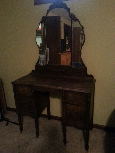 Antique 3 Mirror Vanity by Vanity Antique Furniture Collection