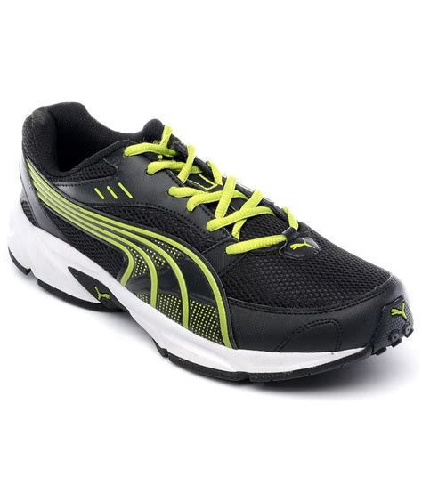 bruno black lime green sports shoes best price in