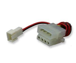 molex to fan adapter 4 pin molex power to 3 pin motherboard fan