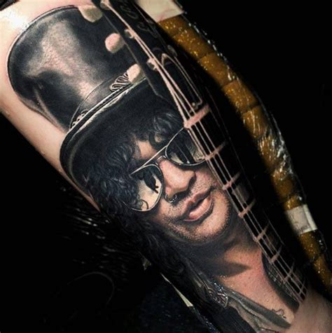 slash tattoos slash guns and roses by nikko hurtado tattoos