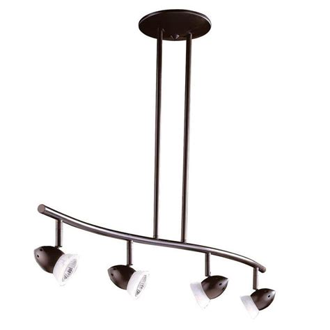 oil rubbed bronze 4 light track lighting ceiling or wall filament design cassiopeia 4 light ceiling oil rubbed