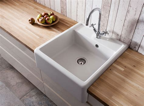inset kitchen sinks belgravia semi inset belfast kitchen sink in belgravia