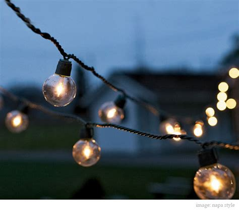 Light Bulb Strings Outdoor Primitive Modern Design Melodie Schleder 5 15