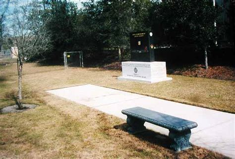 Heritage Gardens Funeral Home by The 398th Memorial At 8th Air Heritage Museum In Sept 2000