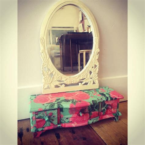 Decoupage Mirrors - decoupage mirror cabinet by thegallerylondon on deviantart
