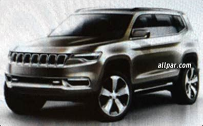 news: jeep grand commander?