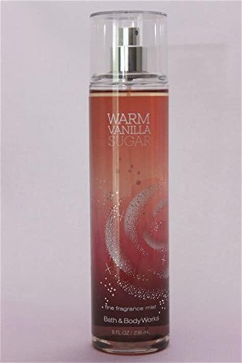 Parfum Warm Vanilla Sugar bath and works fragrance mist warm vanilla sugar 8 0 oz perfume for pleasure