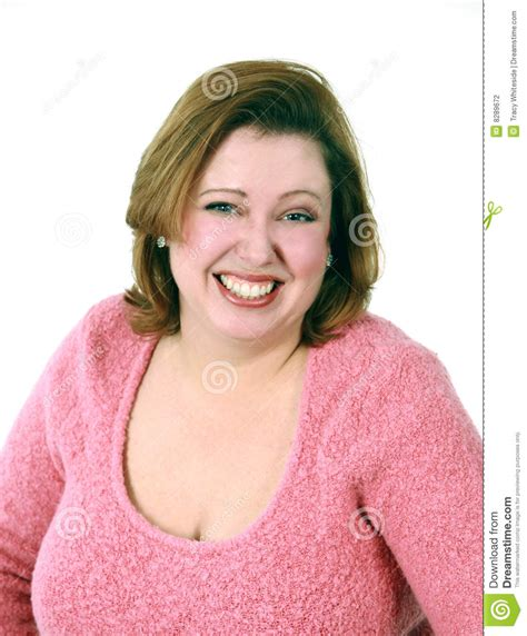 picture of heavy set women in a two piece bathing suit headshot of smiling woman stock photo image of sparse