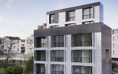 design of housing units lan screens 30 social housing units with folding shutters in paris