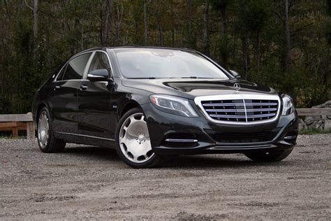 black on black maybach 2016 mercedes maybach s600 driven car review top speed