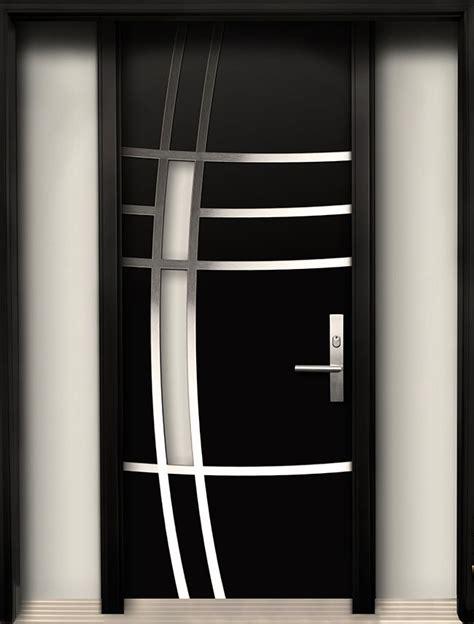 steel door design modern wood door with stainless steel design