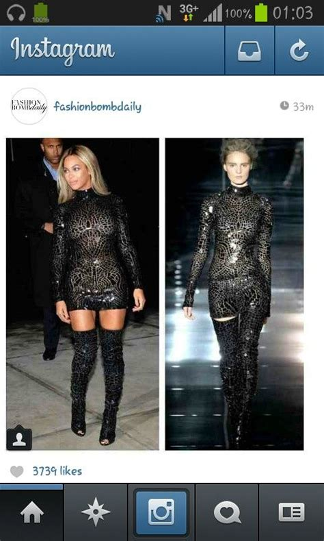 beyonc 233 rocks thigh high boots with a sleeved