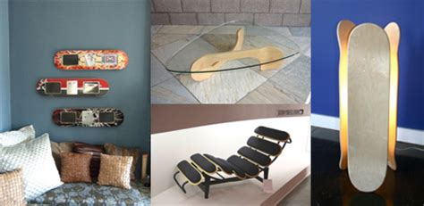 skateboard bedroom furniture skateboard inspired furniture designs