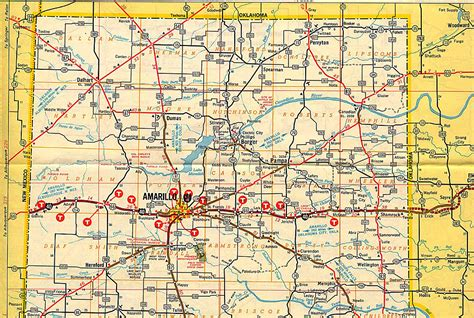 panhandle texas map texas panhandle clif wright