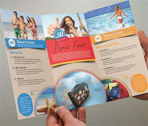 tourism brochure template 47 travel brochure templates free sle exle