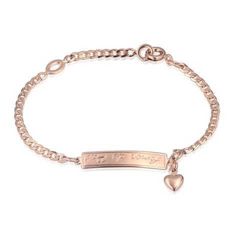 Accessories Gold Bracelet fashion baby 18k gold plated bracelets bangles charms muslim children gift