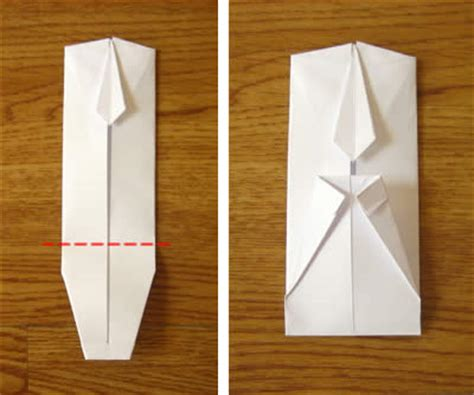 How To Fold A Shirt With Paper - money origami shirt and tie folding