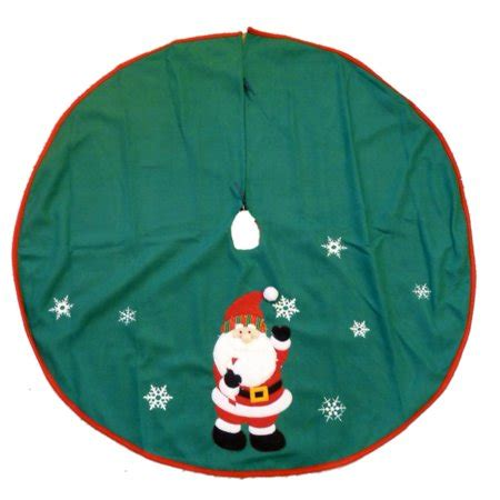 tree skirts walmart trimmery green felt santa claus snowflake tree skirt walmart