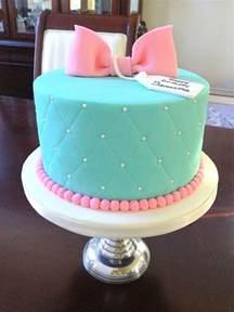 turquoise gift box cake with marshmallow fondant cakes