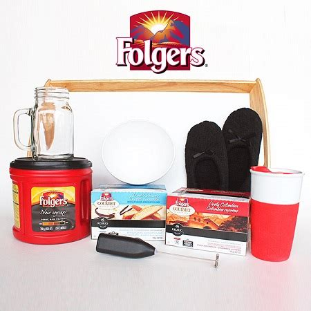 Folgers Sweepstakes - win folgers prize pack