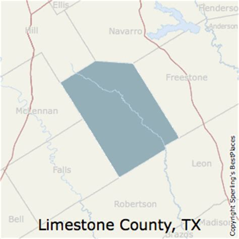 limestone county texas map best places to live in limestone county texas